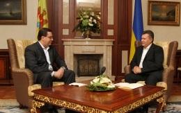Янукович в Крыму провел встречу с и.о. президента Республики Молдова