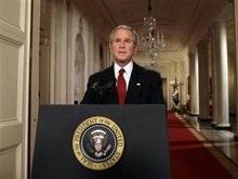 Буш признал, что экономика США находится в серьезном кризисе