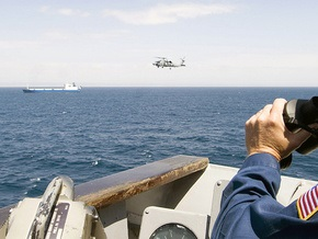 Британские летчики спасли тонущего российского моряка, который провел в воде шесть часов