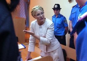 Месяц в СИЗО: Судья в 17-й раз отказался освобождать Тимошенко