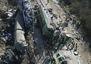 Фотогалерея: Лоб в лоб. Железнодорожная катастрофа на юге Польши