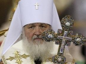 Нареченный патриарх Кирилл почтил память Алексия Второго
