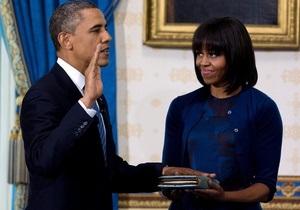 Инаугурация Обамы состоится сегодня - США