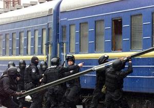 Инцидент в поезде Москва-Будапешт: львовская милиция задержала серба, взявшего в заложники трех хорватов
