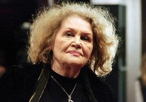 Лина Костенко отказалась принять награду Золотой писатель Украины