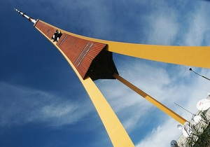 Из-за жары рижская телебашня вытянулась на 4 сантиметра, став самой высокой в Европе