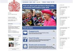 Власти Британии обязали Facebook удалить оскорбительные записи со страницы королевы