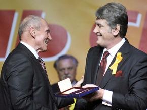 Ющенко наградил двух депутатов орденами Ярослава Мудрого