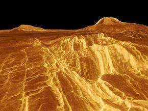 На Венере обнаружены следы древних континентов и вулканы