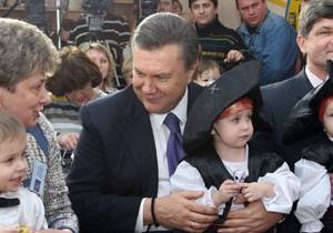 На Закарпатье ребенку дали имя Янукович