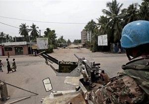 Сторонники победителя выборов в Кот-д Ивуаре получили приказ взять экс-президента живым