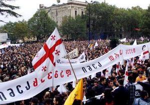 В Грузии отмечают годовщину Революции роз
