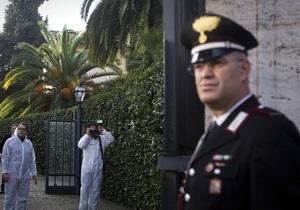 Тревога в посольстве Украины в Риме оказалась ложной