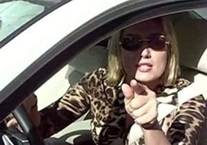 Суд признал Розинскую виновной в инциденте с гаишниками