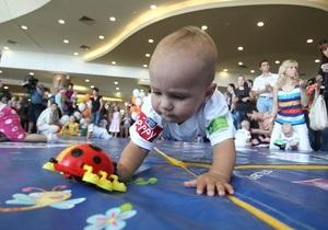 Фотогалерея: Baby Drive 5. В Киеве прошел юбилейный чемпионат  по забегам ползунков