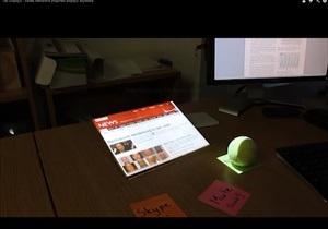 Британские аспиранты предложили способ превращения любой поверхности в подобие iPad