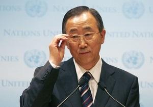 Азаров: Генсек ООН примет участие в Чернобыльской конференции