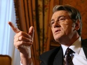 Ющенко запретил направлять благотворительные взносы на зарплаты бюджетникам
