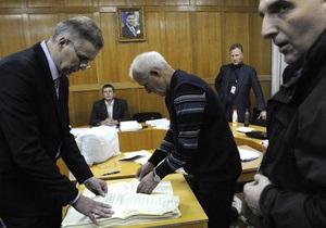 Проведение повторных выборов - под вопросом из-за законодательных ограничений