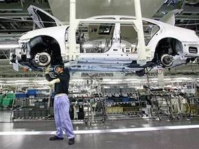 Объем промпроизводства в Японии упал на 9,4%