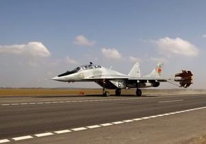 Беларусь временно запретила полеты МиГ-29