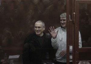 Ходорковский и Лебедев признаны виновными по второму уголовному делу
