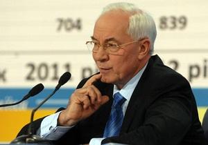 Азаров: власти ценят свободу слова и независимость СМИ