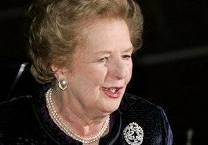 Маргарет Тэтчер отмечает 85-летие