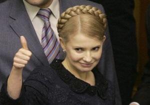 Тимошенко обещает сохранить цены на газ для населения