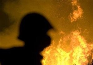 В Киеве пожарные спасли бомжа