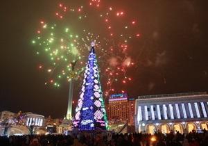 Новогоднюю елку на Майдане зажгут 17 декабря