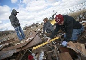 Жертвами урагана Сэнди стали 111 человек