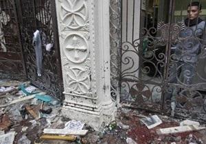 В Египте прогремел взрыв в церкви