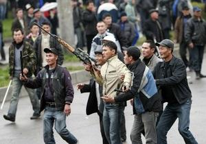 Милиция изъяла у жителей Кыргызстана более сотни единиц стрелкового оружия