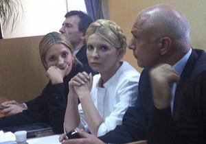 Дочь Тимошенко сообщила, что во время свидания с матерью та все время лежала