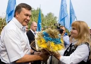 Янукович откроет Сорочинскую ярмарку