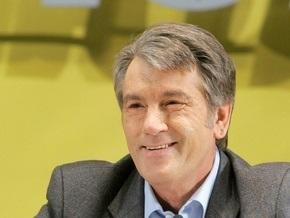 Ющенко уехал в Ивано-Франковскую область встречать Новый год