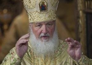 Патриарх Кирилл приедет в Черновицкую область