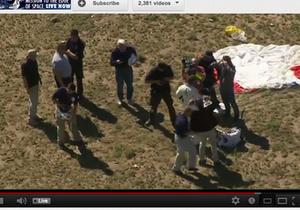 Космический рекорд: бесстрашный Феликс прыгнул с высоты 39 км, превысил скорость звука, успешно приземлился