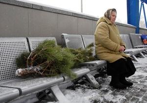 С 15 декабря в Киеве открываются елочные базары
