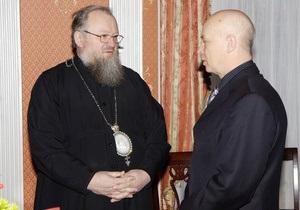 Митрополит Донецкий благословил главу Минуглепрома  на несение послушания  в должности министра