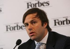Мигель Форбс отрицает, что Курченко нанял его своим советником - Forbes Украина