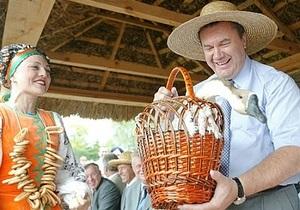 Янукович приедет на открытие Сорочинской ярмарки