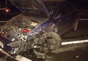 В Киеве сотрудники ГАИ устроили погоню за водителем Daewoo