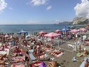 В Крыму сокращается количество туристов, здравницы заполнены наполовину