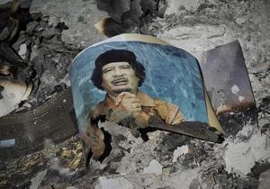 ПНС: Тело Каддафи перевезли в секретное убежище