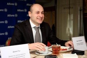 Пресс-завтрак с генеральным директором СК  Allianz Украина