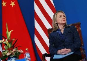 Клинтон назвала отношения Китая и США самыми прочными в истории, несмотря на скандал с диссидентом