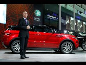 Зірки Land Rover на автосалонах 2011 в Шанхаї та Нью-Йорку