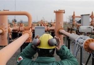 Украина в 2012 году планирует отобрать из своих хранилищ более 12 млрд кубометров газа